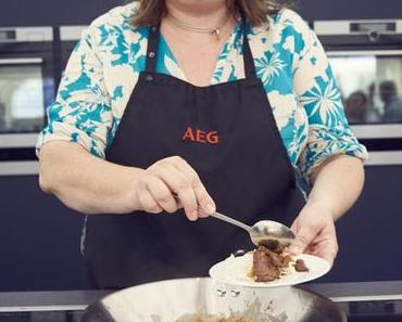 Taste-Festival, AEG-Taste-Academy und Schweinefilet Sous-Vide mit Pflaumensauce