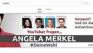#deinewahl Youtuber fragen Angela Merkel- soll davon halten?