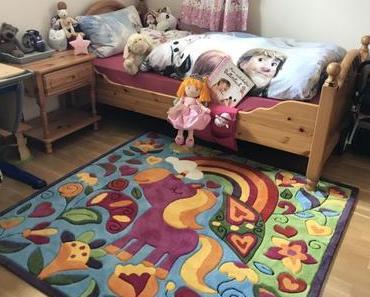 Unser Einhorn Teppich: für mehr Glitzer im Mädchenzimmer