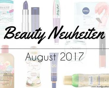 Beauty Neuheiten August 2017 – Preview