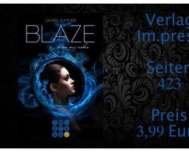 Rezension | Blaze - Die Elite 3 von Vivien Summer