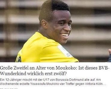 BVB Dortmund vermarktet Asylbetrüger als '12jähriges Wunderkind'