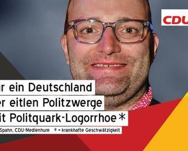 CDU, die widerlichen Plakate zur Bundestagswahl (1) Jens Spahn