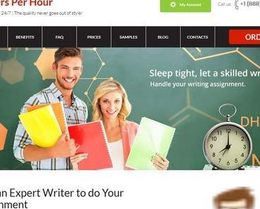 writersperhour.com review – Course work writing service writersperhour