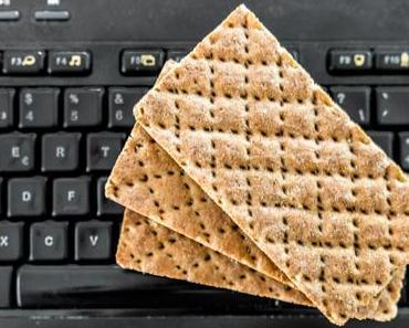 Krümel-über-der-Tastatur-Tag – der amerikanische Crackers Over Your Keyboard Day