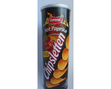 Lorenz Snack-World - Chipsletten Hot Paprika