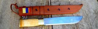 Vorgestellt - Das Knivsmed Strømeng Sami Messer - Samekniv 9