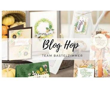 Stampin UP! Blog Hop Thema Herbst - Schokoladen Gutschein Karte