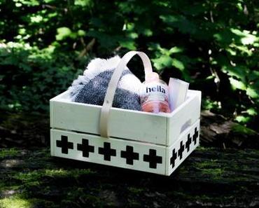 Ein Picknick im Wald: DIY Holz Korb basteln