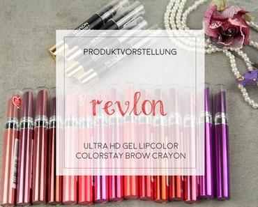 Review - Revlon Ultra HD Gel Lipcolor und ColorStay Brow Crayon [Werbung]