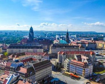 Reisefoto der Woche: Ausblick von der Frauenkirche in Dresden