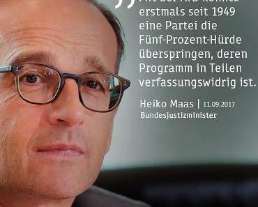 Demagoge des Tages: Heiko Maas