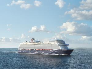 Die neue Nummer Eins von TUI Cruises mit sichtbaren Änderungen. Noch sportlicher: die neue Mein Schiff 1.