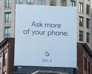 Google Pixel 2: Wird die nächste Generation am 4. Oktober 2017 gezeigt?