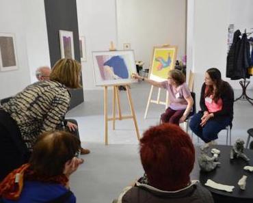 KunstZeit–Führungen für Menschen mit Demenz