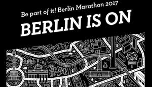 Running Events Berlin-Marathon Berlin Black White