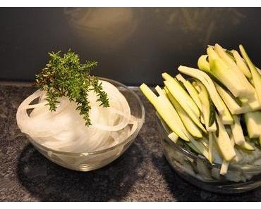 """Noch ist Zucchinizeit: Tagliatelle """"Gärtnerin"""""""