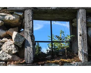 Bild der Woche: Almhüttenfenster