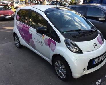 Multicity Carsharing wird eingestellt! Zum 29. Oktober 2017