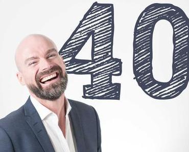 Originelle Geschenkideen zum 40. Geburtstag für Männer