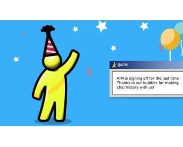 Das Ende des AOL Instant Messengers AIM