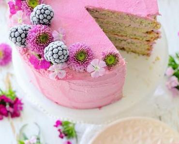 Mohn Brombeer Torte