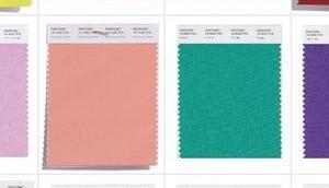[News] PANTONE Fashion Color Report NYFW Spring 2018: