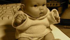 Überfüttern Säuglingen führt Fettleibigkeit Erwachsenen