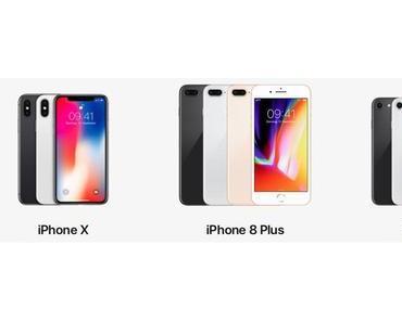 Apple kürzt Lieferanten-Bestellungen für das iPhone 8
