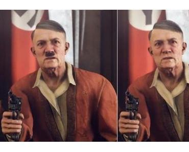 Lächerliche Hitler-Bart-Zensur in Wolfenstein 2