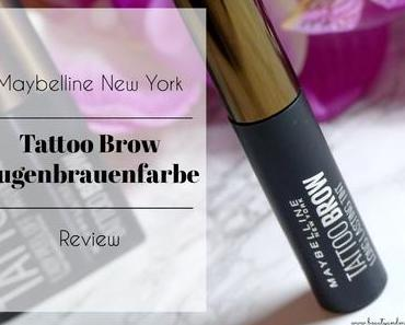 Maybelline New York Tattoo Brow Augenbrauenfarbe – Review