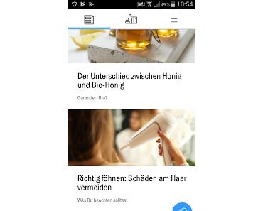 Wie eine App verändern kann....
