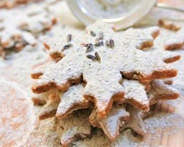 Kekse süß und pikant mit Blüten & Wildkräutern - Weihnachtskekse der etwas anderen Art!