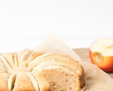 einfacher Apfelkuchen mit griechischem Joghurt – simple apple cake with greek yogurt