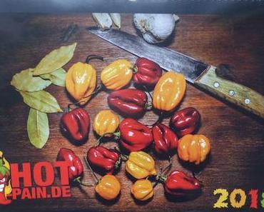 Hot-Pain Kalender, Saatgutlieferung und Resteverarbeitung