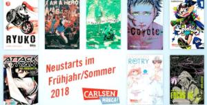 Carlsen Manga gibt Frühjahrs- & Sommerprogramm bekannt
