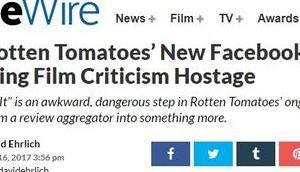 RottenTomatoes neue Facebook-Show Schritt falsche Richtung?