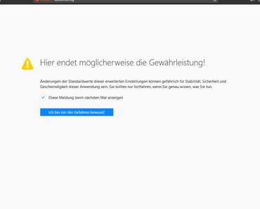 Firefox 57: Universal Second Factor Unterstützung aktivieren