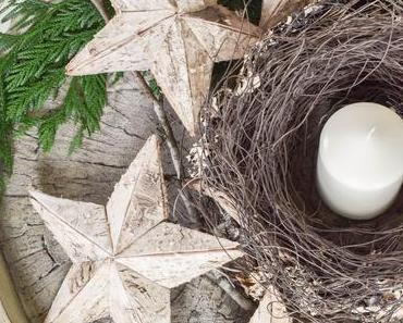 2 kreative DIY Schalen: Winterliche Deko für euren Tisch