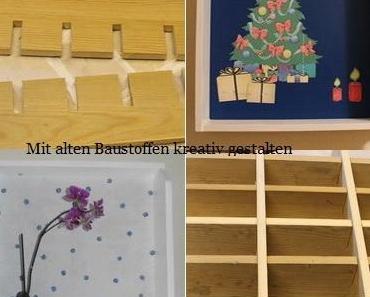 DIY – Adventskalender aus alter Schublade