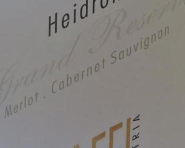 Verkostung Rotwein – Weingut R&A Pfaffl – Heidrom Grand Reserve 2011
