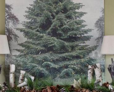 Mein zweidimensionaler Weihnachtsbaum - Goodbye 4-Meter-Tanne!