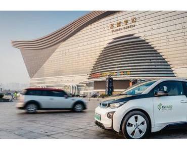 BMW bringt sein Car-Sharing Angebot nach China