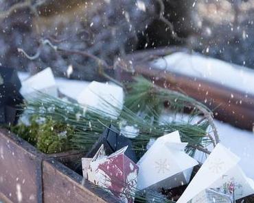 DIY Papiertüten für gebrannte Mandeln