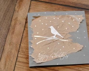 mein creadienstag - Weihnachtskarten ...