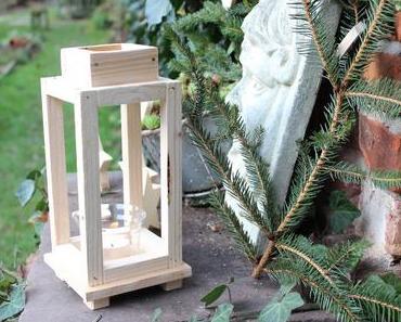 DIY Projekt – Gartenlaterne selbst gebaut