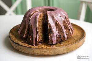 Saftiger Rotweinkuchen Schokolade