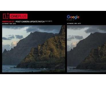 OnePlus 5T: Nach Kamera-Update auf Augenhöhe mit Google Pixel 2? Nö.