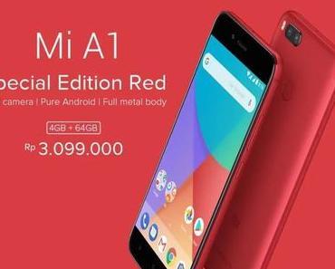 Xiaomi Mi A1: Sonderedition in «Rot» offiziell vorgestellt
