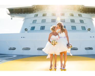 Sie haben JA gesagt! Regenbogenhochzeit bei Tui Cruises